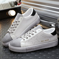 Brand Fashion Men Casual Shoes High Quality PU Leather Shoes Men Breathable Flat With Men Shoes Driving Shoes SMYXP-F0025