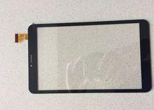 Nuevo para 8 pulgadas DIGMA PLANE 8713 T 3G PS8106PG Tablet digitalizador pantalla táctil Sensor de Cristal Envío Gratis
