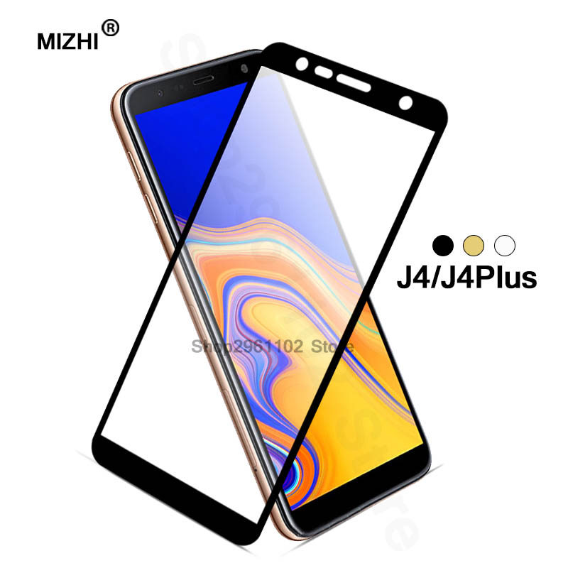 Cover For Samsung J4 Plus 2018 Protective Glass Global Version On For Samsung Galaxy J4 J 4 J4plus J42018 6.0