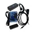 2 unids LeiXen VV-108 MINI Walkie Talkie UHF 400-480 MHz Con fuente de Alimentación USB WLN KD-C1 Handheld Transceptor Ham Radio de Dos Vías