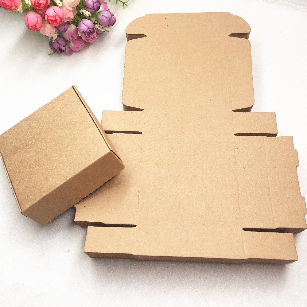 30pcs/lot  Kraft Paper Gift Pacakging Box ,   Kraft Paper Gift Box ,wedding Candy Craft Paper Box  Small Toy Box,handmade Soap B