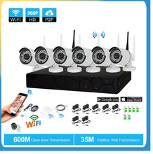 hot deal buy plug and play 8ch 1080p hd wireless nvr kit p2p 960p indoor outdoor ir night vision security 1.3mp ip camera wifi cctv system