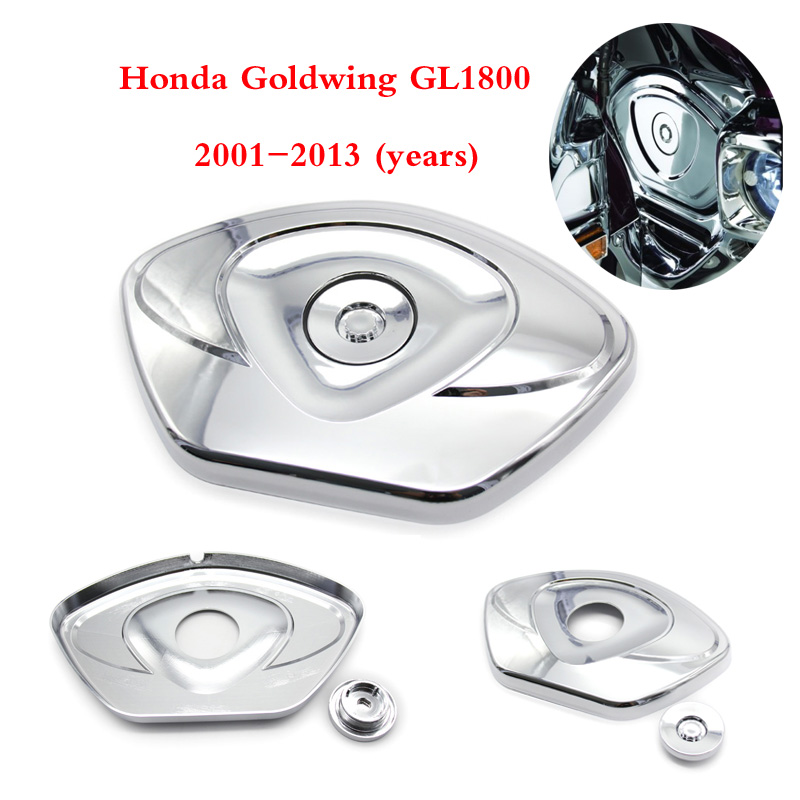 For Honda GL1800 GOLDWING GL 1800 2001-2013 New Chrome Motorcycle Front Chain Timing Cover Case rubing matching motorcycle accessories gn250 did9 timing chain in pieces