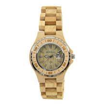 Wooden Watches For Ladies With Data Display