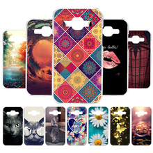 цена на Custom Soft Silicone Case For Samsung Galaxy J1 2016 Case Coque For Samsung J1 Mini Prime Cover Painted Case Back Covers Fundas