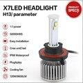led bulb 12v led headlights external lights 80W 9600LM h4 led headlight parking lighth Conversion Kit H11 Super Bright Headlamp