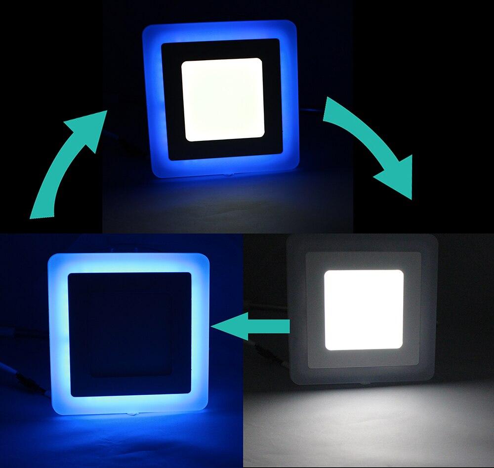 Downlights rebaixado luz do painel painel Interruptor : Interruptor