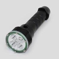 Underwater Diving Light 6000 Lumens 5x XM L2 LED Waterproof 30m Outdoor Flashlight Torch Lamp