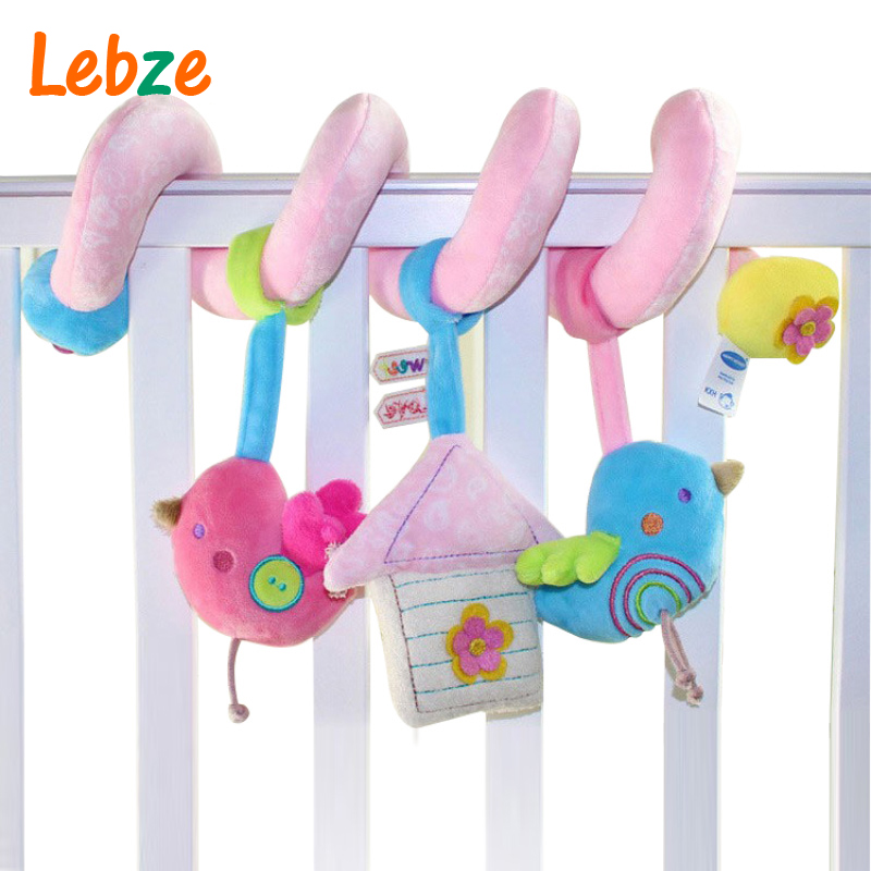 Soft Crib Toys : Baby crib musical toy cot stroller hanging rattle infant