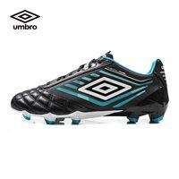 Umbro Обувь для футбола мужской кожа кенгуру короткие шипы искусственный пастбищ Training Обувь Бутсы ucb90135