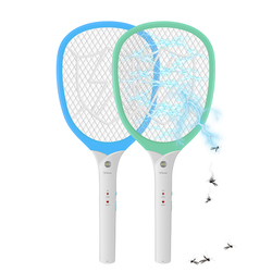 YAGE Electric Mosquito Swatter Mosquito Killers Pest Control Bug Zapper Reject Racket Trap 2200V Electric Shock with Lights