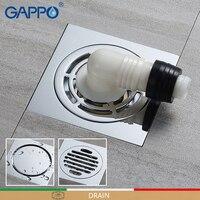 GAPPO Drains Floor cover Anti odor Bathroom Floor Drainer bath drains stopper Bathroom Shower Drainers Strainers