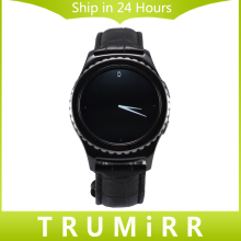20mm correa de piel genuina para samsung gear s2 classic r732 y r735 motorola moto 360 2 42mm smart watch band pulsera de la correa