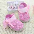The New Lace Bow Princess Baby Toddler Shoes 0-1 Years Childrens Pink White