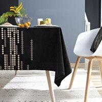 RUIYEE brand velvet hot table cloth coffee table cloth party wedding table cloth round table cloth custom