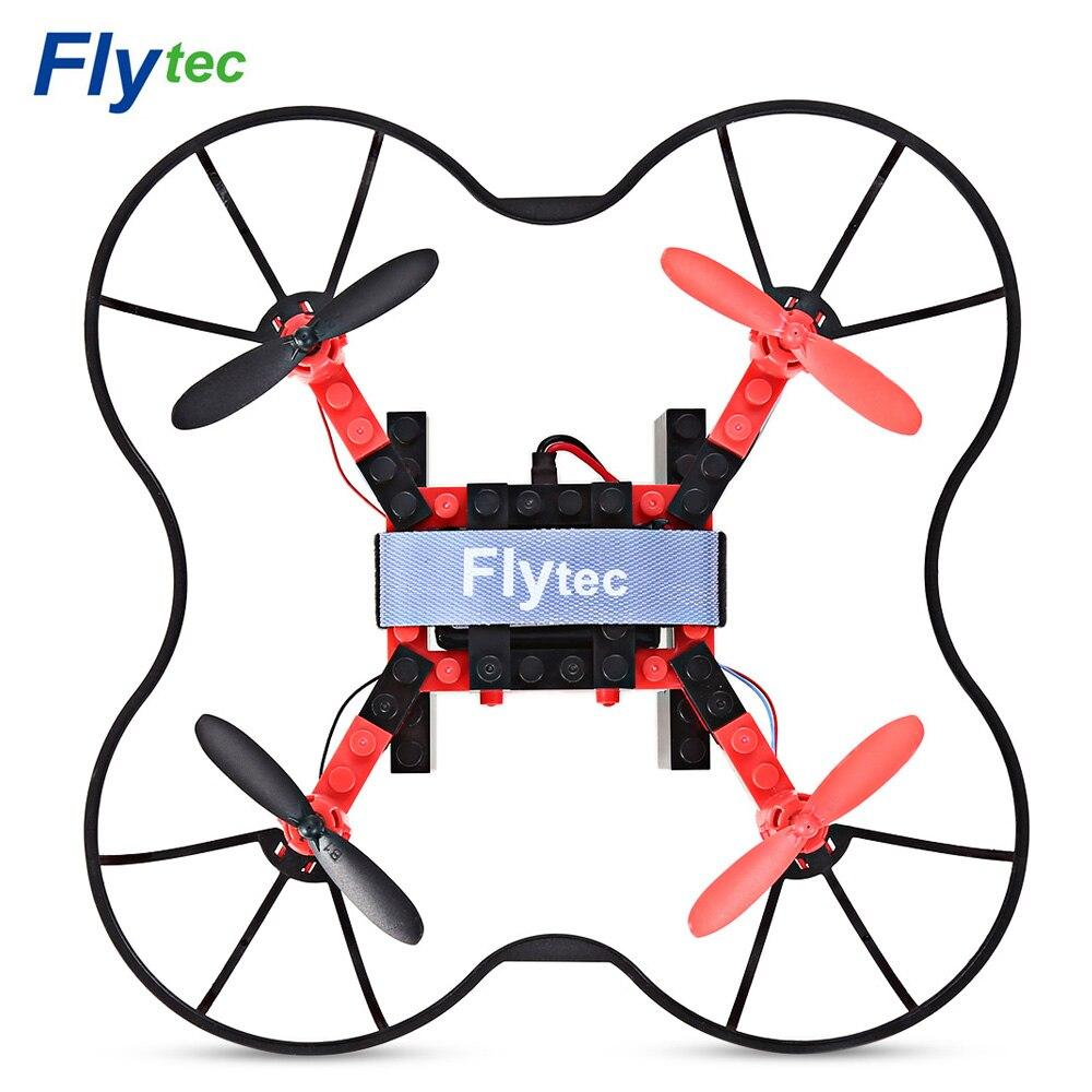 Flytec T11 DIY Blocs RTF RC quadcopter 2.4g 4ch 6 eje Gyro modo sin cabeza 3D ilimitado Flip aviones