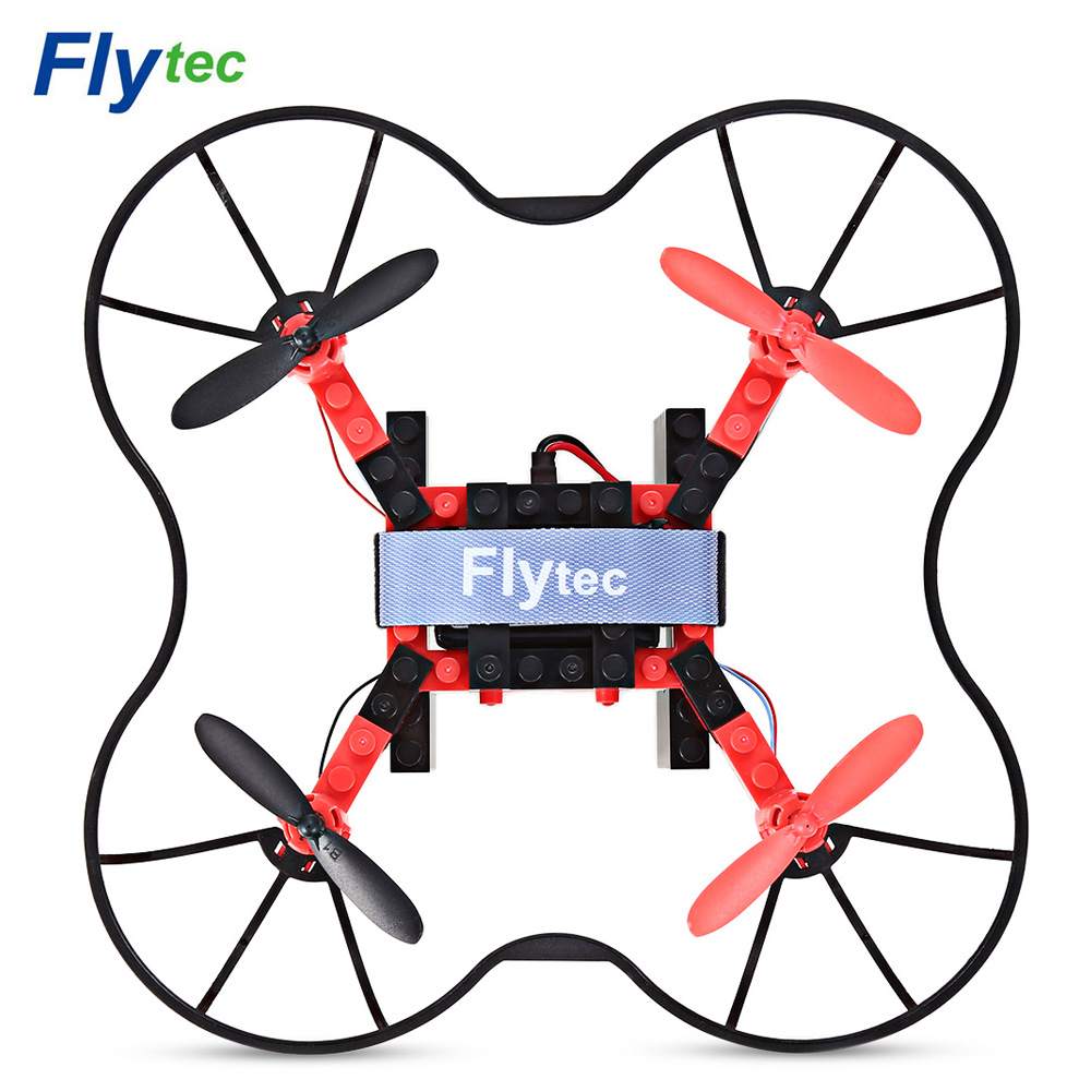 Flytec T11 DIY Building Blocks RC RTF Quadcopter 2.4G 4CH 6-axis Gyro Headless Mode 3D Unlimited Flip Aircraft