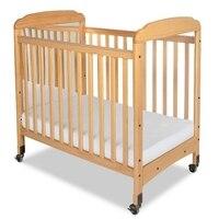Основы 1732040 основы Serenity Компактный Фиксированным стороны кроватки натуральный кроватку с регулировкой матрас доски Clearview заканчивается