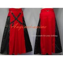Envío libre gothic lolita punk mujer falda dress cosplay por encargo