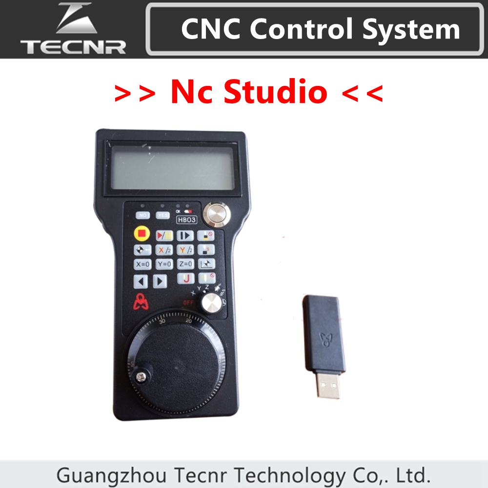Nc Studio wireless handwheel  3 axis cnc controller for cnc router HB03  WHB03Nc Studio wireless handwheel  3 axis cnc controller for cnc router HB03  WHB03