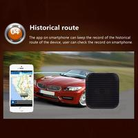 Mini Portable Realtime Car GPS Tracker Car GSM GPRS Tracking Device Anti Lost Tracking Alarm Security System A18