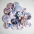 Botão de reiniciar a partir do zero Anime mochilas acessorios cosplay remendos Crachá Broche Bonito Brinquedo de Presente cartoon pin X-Presente x-mas para As Crianças