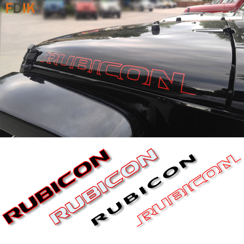 Red maniglia inserti anteriore posteriore alluminio maniglia cover Trim for 2007/ /2016/Wrangler JK /& illimitato accessori 4/door 5/pz