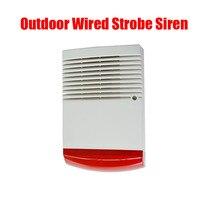 Outdoor Alarm Sound And Light Alarm Alarm Horn Alarm 13 8 14 2V Red Flashlight