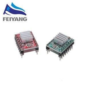 Image 3 - 100PCS 3D מדפסת חלקי Reprap A4988 DRV8825 צעד מנוע נהג מודול עם צלעות קירור Stepstick DRV8825 תואם StepStick