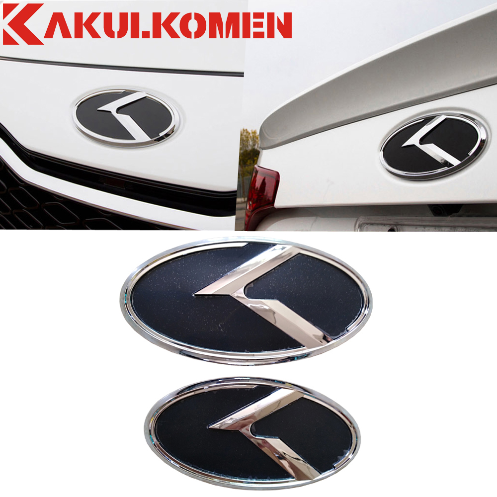 For KIA K5 2011-2013 Optima Carbon Fiber Black Red 3D Flight K LOGO Emblem Badges Grill Front+Trunk Rear+Steering+Wheel Caps блокиратор рулевого вала fortus kia optima 2011 2013 csl 2503