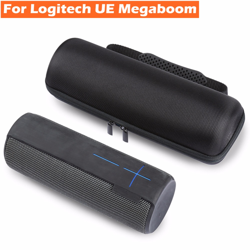 Portable Column Storage Carrying Bag Travel Pouch Box for Logitech UE Megaboom Bluetooth Speaker Protective Case Cover Protector