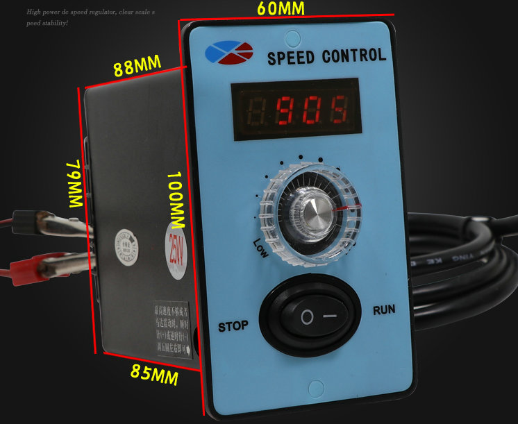 AC 220V motor governor AC single-phase US-52 high-power 6W / 200W digital controller motor switch s governor motor speed controller supporting us governor