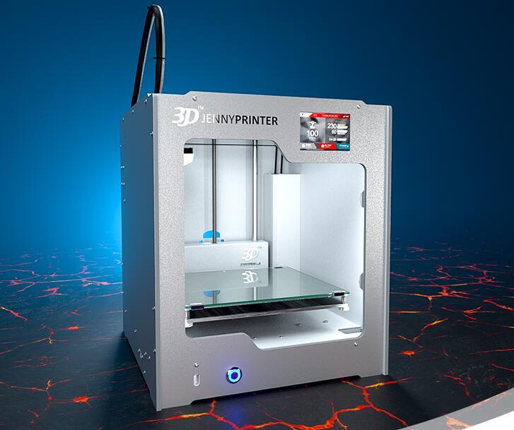 Jennyprinter поколения 4 Ultimaker2 Z205 Высокая точность рабочего стола 3D принтер DIY Kit