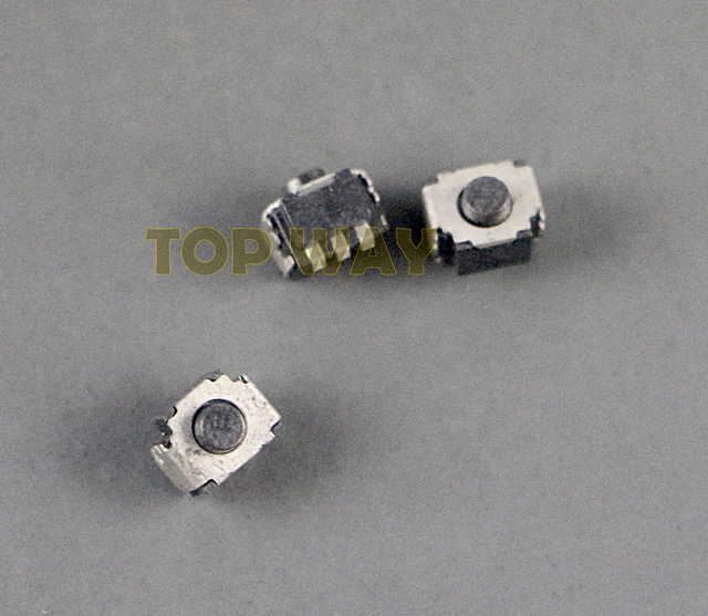 100pcs/lot Original new For Left Right Shoulder Trigger Button Switch L R Micro Switch Button For 2ds new 3ds 3DSXL 3DSLL