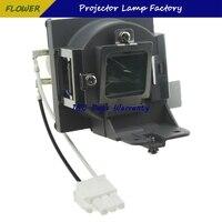 & Nbsp; benq ms504/ms512h/ms521p/mx505/mx522p lâmpada projetora para substituição com carcaça