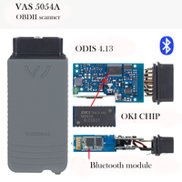 VAS5054a Bluetooth ODIS 4 13 Free Keygen NO OKI Chip VAS 5054A 5054 OBD2 Diagnostic Scan