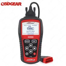 2021 più nuovo KONNWE KW808 OBD2 Scanner OBD2 lettore di codice strumento di ripristino del motore EOBD/CAN OBD2 strumento diagnostico come MS509 auto scanner