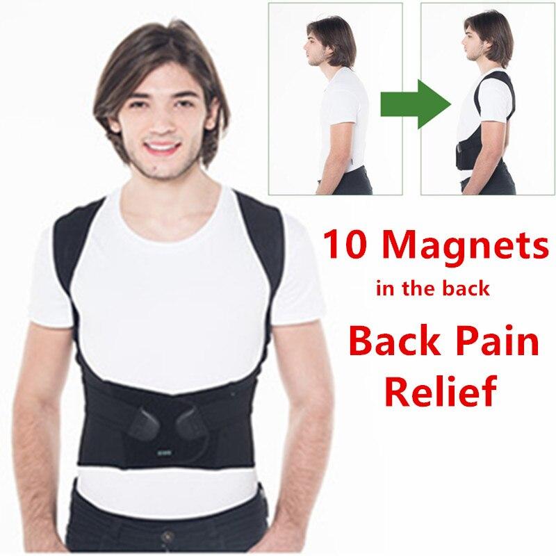 Magnetische Therapie Zurück Brace Posture Corrector Back Pain Relief Unterstützung Hosenträger Männer und Frauen Schulter Lenden Unterstützt 174 PSPC
