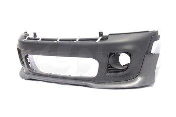Porzione Di Corpo In Fibra Di Carbonio Auto-Styling Kit Fit For 06-13 R56 R57 R58 R59 John Cooper Works Style FRP Paraurti Anteriore W/Carbon Lip