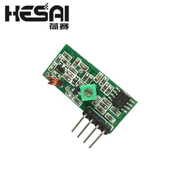 433 Mhz RF nadajnik i odbiornik moduł Link zestaw dla ramię/MCU WL DIY 315 MHZ/433 MHZ bezprzewodowy dla arduino Diy Kit