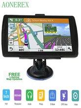 5 אינץ HD CarGPS Navigator FM Bluetooth 256BM + 8G Navitel 2019 האחרון אירופאי מפת לווין Navigatlon משאית GPS ניווט ac