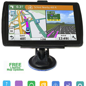 5-inch HD CarGPS Navigator FM