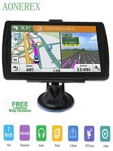 5 inch HD CarGPS Navigator FM Bluetooth 256BM + 8G Navitel 2019 nieuwste Europese kaart satelliet Navigatlon truck GPS navigatie ac
