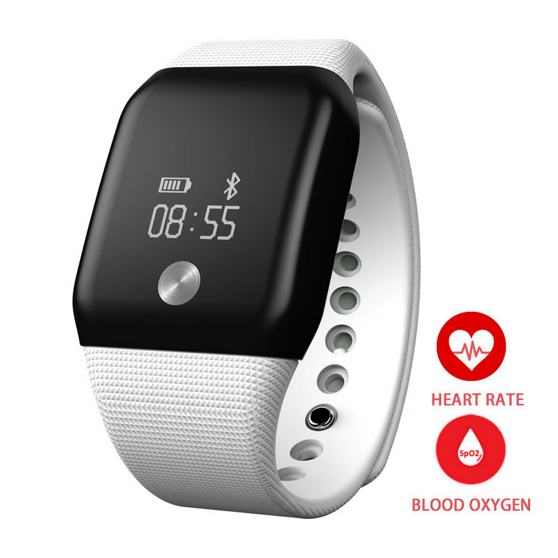 New Sport Watch Healthy Heart Rate Monitor Digital Bracelet Fitting Life Smart Watch for iPhone Android Sleep Tracker A88
