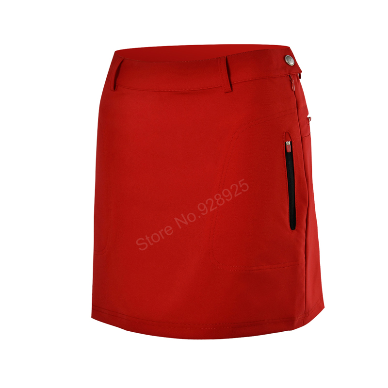 Women golf skirts lady summer shorts inside pantskirts slim sports skorts girl golf training 3 colors top quality design brand simulation mini golf course display toy set with golf club ball flag