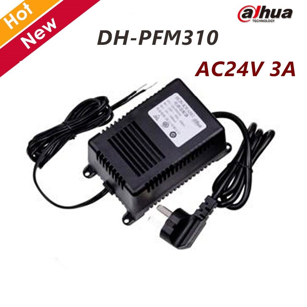 Original Dahua AC24V 3A Power Supply Input 220V 50Hz CCTV Accessories DH-PFM310 for CCTV System 4pcs 12v 1a cctv system power dc switch power supply adapter for cctv system