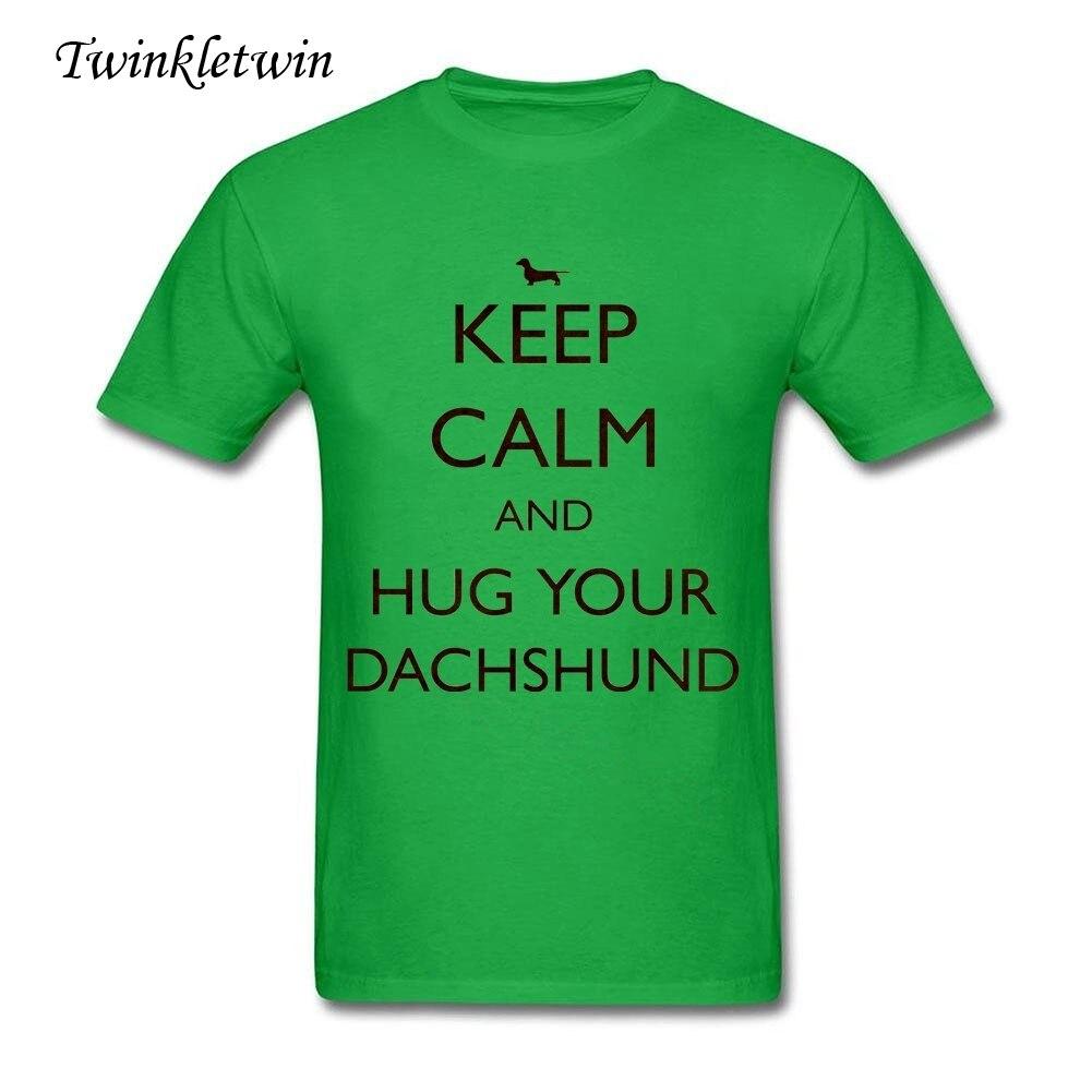 Responsible Dachshund Dog T Shirt Custom Short Sleeve Tshirt Men Hip Hop Swag Big Size O-neck Cotton Fitness Men T-shirts Tops & Tees