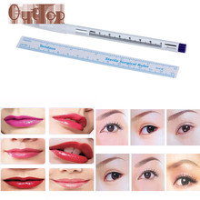 GRACEFUL Surgical Skin Marker Pen Scribe Tool for Tattoo Piercing Permanent Makeup Makeup Eyebrow Tattoo Manual Pen & Ruler NOV4