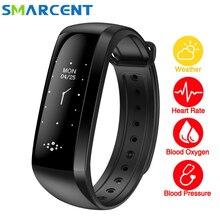 M2S Смарт-фитнес часы-браслет интеллектуальные Дисплей Приборы для измерения артериального давления сердечного ритма Мониторы крови кислородом для Android IOS SmartBand