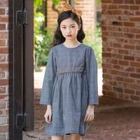 Baby Girl Clothes Spring Kids Dresses For Girls Long Sleeve Plaid Cinderella Dress Toddler Girl Dresses Children Clothes 8 10 12